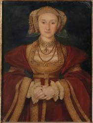 Anne de Clèves, reine d'Angleterre (Holbein Hans, le Jeune) - Muzeo.com