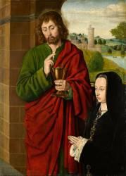 Anne de France, dame de Beaujeu duchesse de Bourbon (1462-1522) (Le Maître de Moulins (dit),...) - Muzeo.com