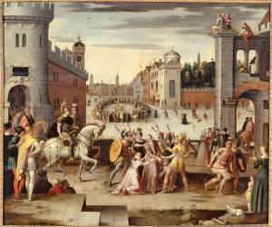 Arrestation et supplice de Thomas More (Caron Antoine) - Muzeo.com