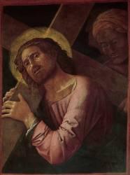 Christ portant sa croix et Simon de Cyrène (Andrea Mantegna) - Muzeo.com