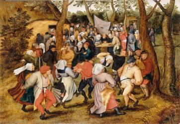 Danse de noces (Brueghel le Jeune) - Muzeo.com