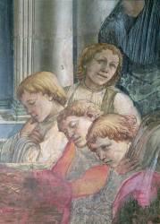 Détail de la Célébration des Reliques de Saint Stéphane (Filippo Lippi) - Muzeo.com