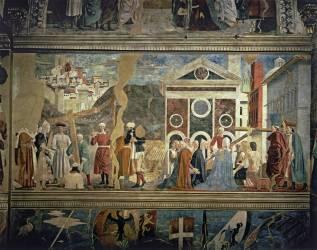 Détail de la Légende de la Vraie Croix (Piero della Francesca) - Muzeo.com
