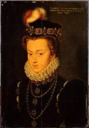Elisabeth d'Autriche (1554-1592), reine de France (François Clouet) - Muzeo.com