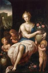 Flore ou Allégorie de l'été (Ambroise Dubois) - Muzeo.com