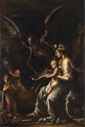 Fragilité humaine (Salvator Rosa) - Muzeo.com