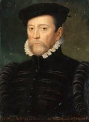 François de Scepeaux, seigneur de Vieilleville (1510-1571), Maréchal de France en 1562 (Clouet François (atelier de)) - Muzeo.com