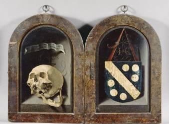 Gauche : Jean Carondelet (1469-1545), doyen de l'église de Besançon ; droit : Vierge à l'enfant (Jan Gossaert) - Muzeo.com