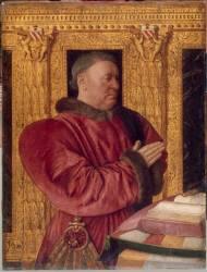 Guillaume Jouvenel des Ursins (1401-1472), baron de Trainel, chancelier de France (Jean Fouquet) - Muzeo.com