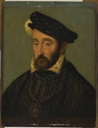 Henri II, roi de France en 1547 (1519-1559) (Clouet François (atelier de)) - Muzeo.com