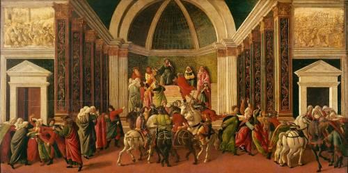 Histoire de Virginie Romana (Sandro Botticelli) - Muzeo.com