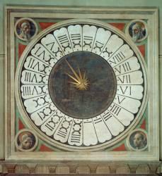 Horloge canonique avec le portraits des quatre prophètes (Paolo Uccello) - Muzeo.com