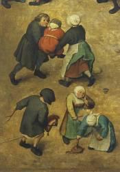 Jeux d'enfants (Brueghel Pieter le Vieux) - Muzeo.com