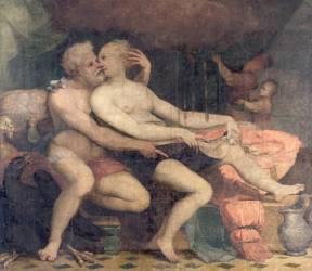 Jupiter et Danaé (Buonaccorsi Pietro dit aussi...) - Muzeo.com