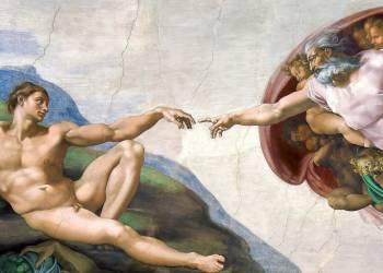 La création d'Adam (Michel-Ange) - Muzeo.com
