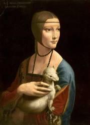 La Dame à l'Hermine (Léonard de Vinci) - Muzeo.com