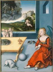 La Mélancolie (Cranach Lucas, l'Ancien) - Muzeo.com
