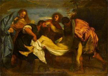 La Mise au tombeau (Titien) - Muzeo.com
