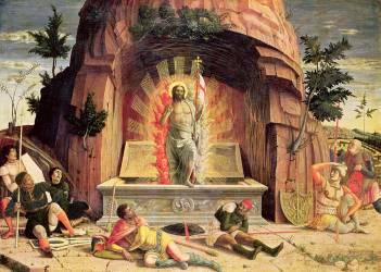 La Résurrection (Andrea Mantegna) - Muzeo.com