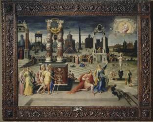 La sibylle de Tibur (Caron Antoine) - Muzeo.com