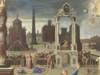 La sibylle de Tibur (détail) (Caron Antoine) - Muzeo.com