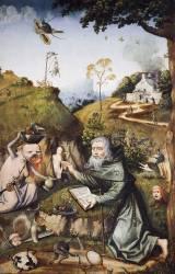 La tentation de saint Antoine (Jérôme Bosch) - Muzeo.com