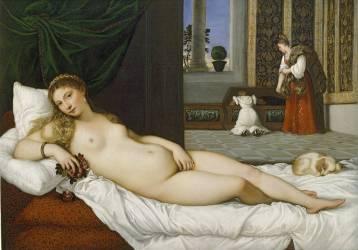 La Vénus d'Urbin (Titien) - Muzeo.com
