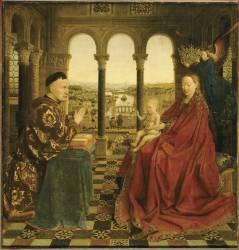 La Vierge du chancelier Rolin (Jan Van Eyck) - Muzeo.com