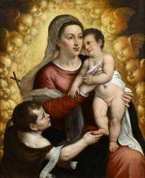 La Vierge à l'enfant avec saint Jean-Baptiste (Titien) - Muzeo.com