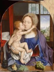 La Vierge et l'Enfant (Metsys Quentin) - Muzeo.com