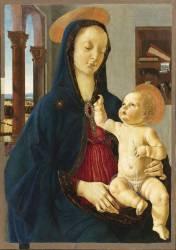 La Vierge et l'Enfant (Domenico Ghirlandaio) - Muzeo.com