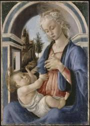 La Vierge et l'Enfant (Sandro Botticelli) - Muzeo.com