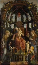 La Vierge et l'Enfant dite Vierge de la Victoire (Mantegna Andrea) - Muzeo.com