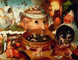 La vision de Tondal (Jérôme Bosch) - Muzeo.com