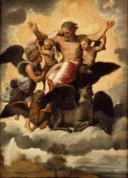 La vision d'Ezechiel (,D'après Raphaël (dit),...) - Muzeo.com