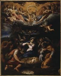 L'adoration des bergers. (Annibale Carracci) - Muzeo.com