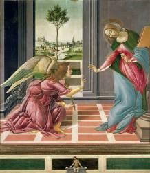 L'Annonciation (Sandro Botticelli) - Muzeo.com