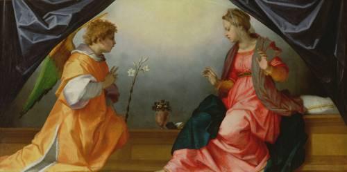 L'Annonciation (Andrea del Sarto ) - Muzeo.com