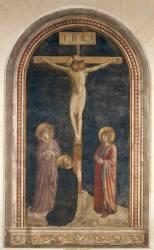 Le Calvaire avec saint Dominique (Fra Angelico) - Muzeo.com