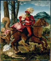 Le Chevalier, la jeune fille et la Mort (Baldung Grien (dit), Baldung...) - Muzeo.com