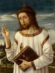 Le Christ bénissant (Bellini Giovanni) - Muzeo.com