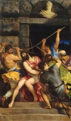Le Christ couronné d'épines (Titien) - Muzeo.com