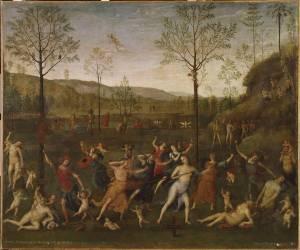 Le Combat de l'Amour et de la Chasteté (Pérugin (dit), Vannuci Pietro...) - Muzeo.com