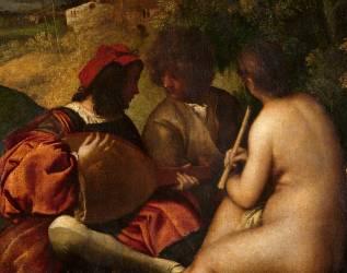 Le Concert champêtre (Titien (dit), Vecellio Tiziano) - Muzeo.com