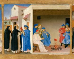 Le Couronnement de la Vierge (Fra Angelico (dit), Guido di...) - Muzeo.com