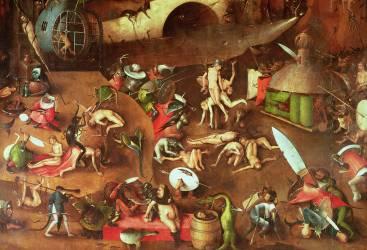 Le jugement dernier (détail) (Jérôme Bosch) - Muzeo.com