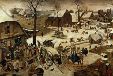 Le paiement de la Dîme (Brueghel Pieter le Vieux) - Muzeo.com