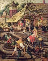 Le printemps (Brueghel Pieter le Vieux) - Muzeo.com