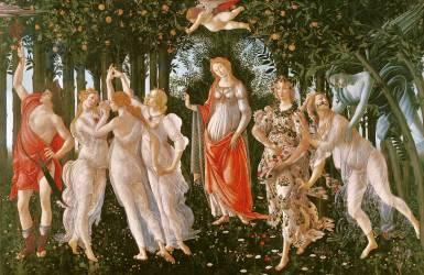 Le printemps (Botticelli Sandro) - Muzeo.com