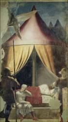 Le Rêve de Constantin (Piero della Francesca) - Muzeo.com